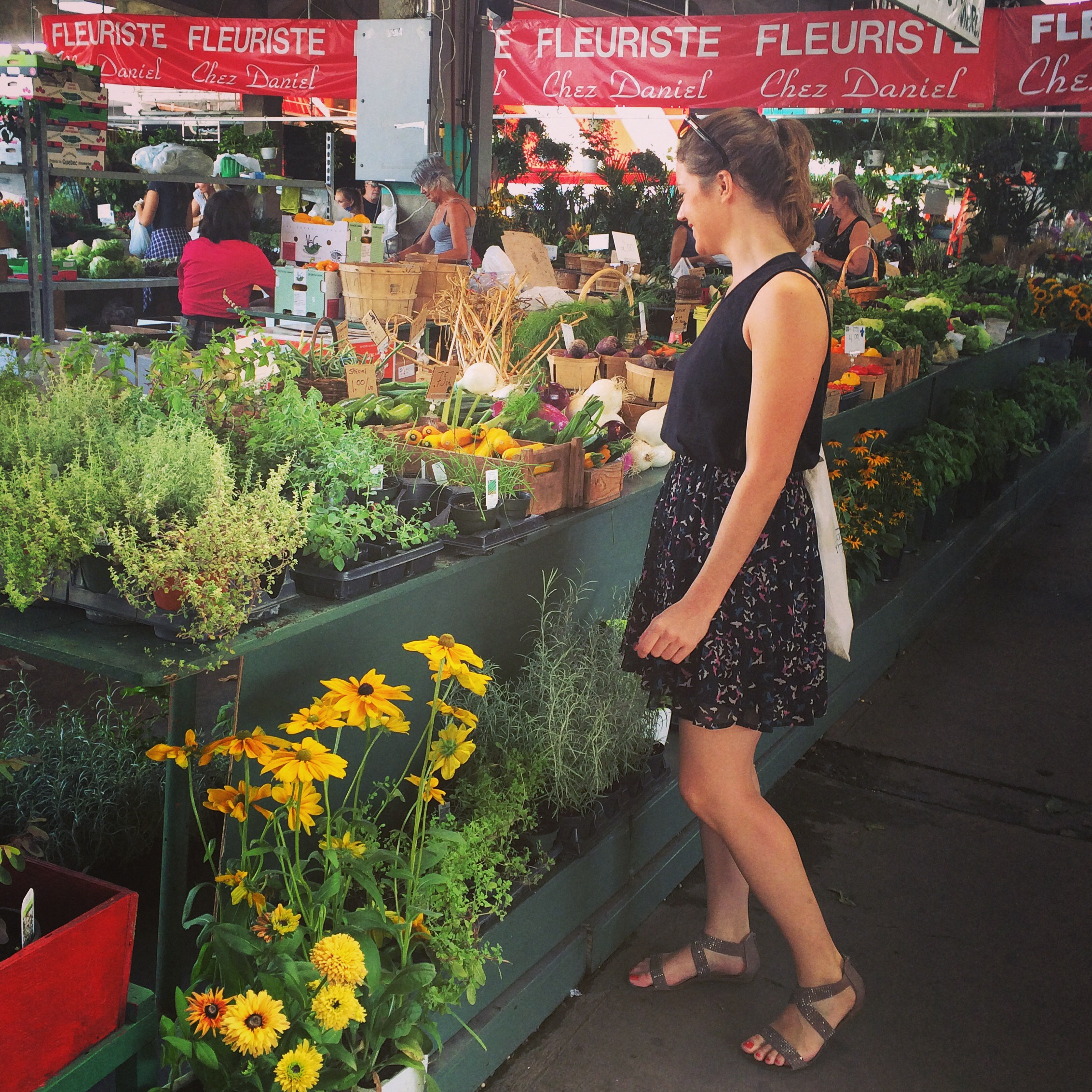 Marché Jean Talon | Crédit photo : The DreamCatcheuse