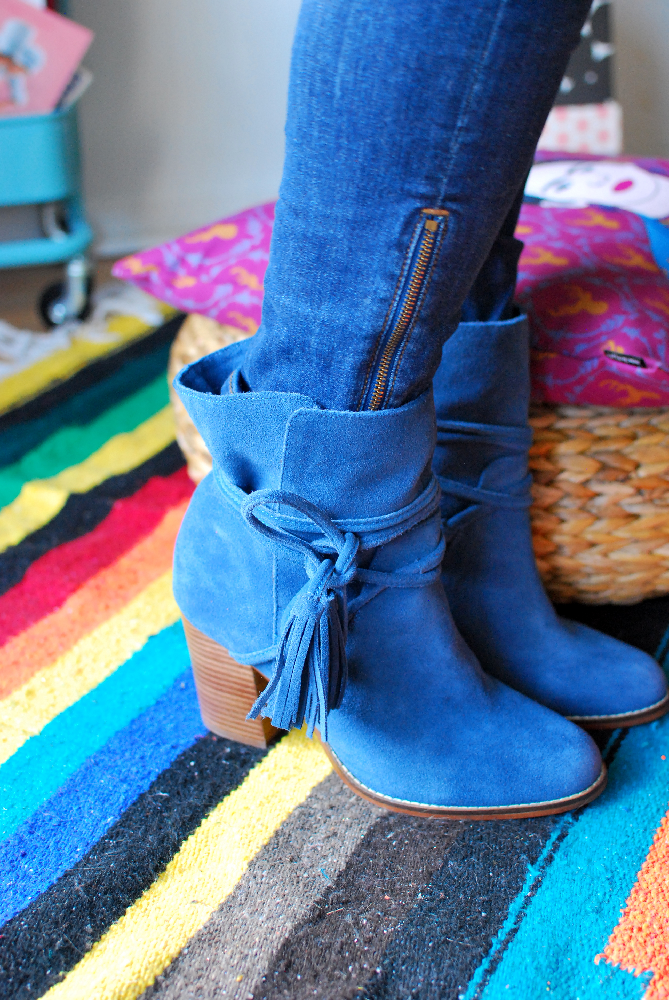 the dreamcatcheuse dream catcheuse bleu blue jeans aldo shoes montreal blogger
