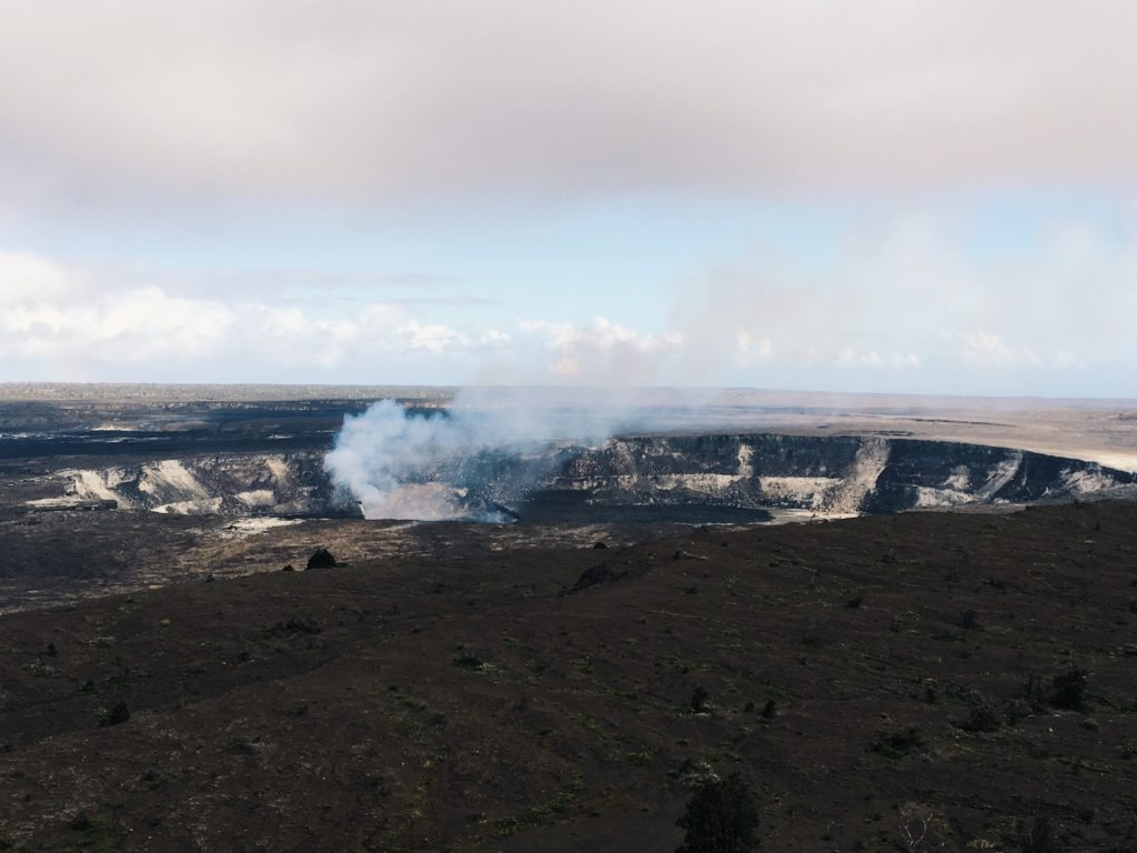 Volcan Kilauea, Big Island, Hawaii