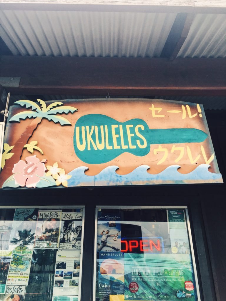 Ukulele Shop - Haliewa, Hawaii