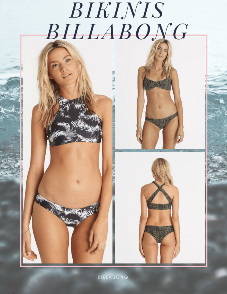 Ma sélection de maillots pour surfer - bikinis Billabong - The DreamCatcheuse