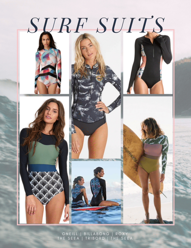 Ma sélection de maillots pour surfer - surf suits - The DreamCatcheuse