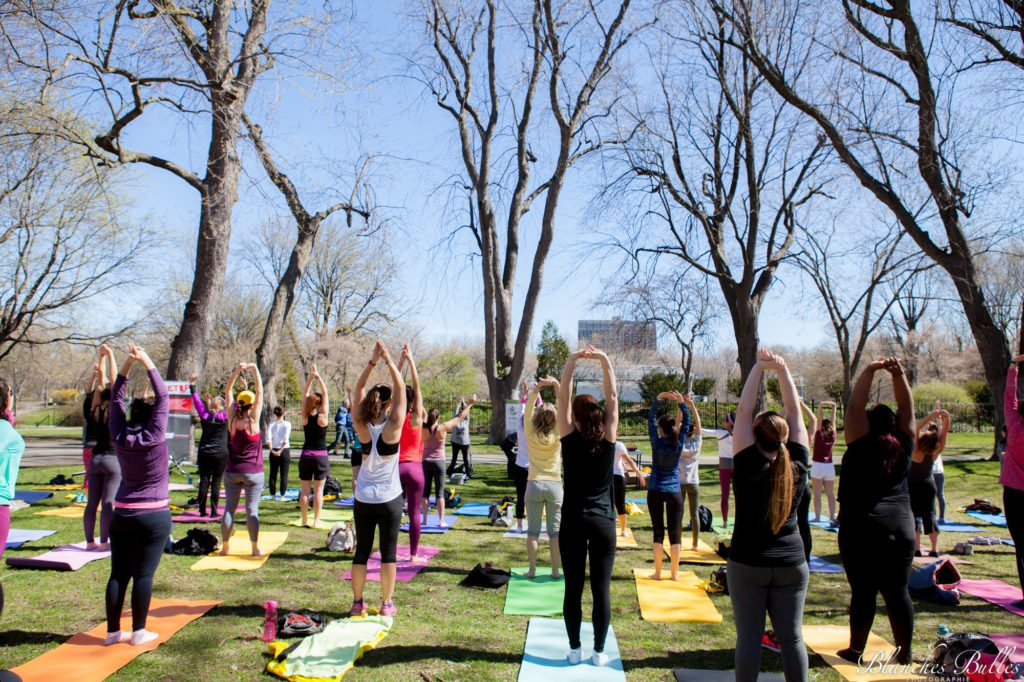 Pilates au Parc Lafontaine